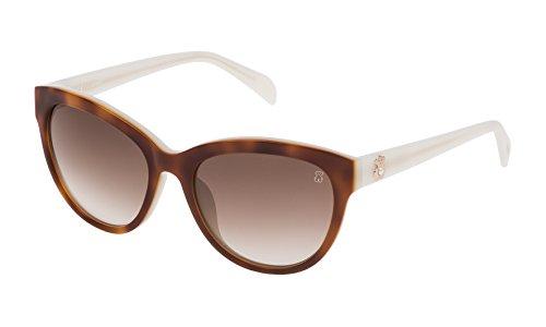 TOUS STO955S-54097B Gafas, Marrón/Beige, 54/18/140 para Mujer