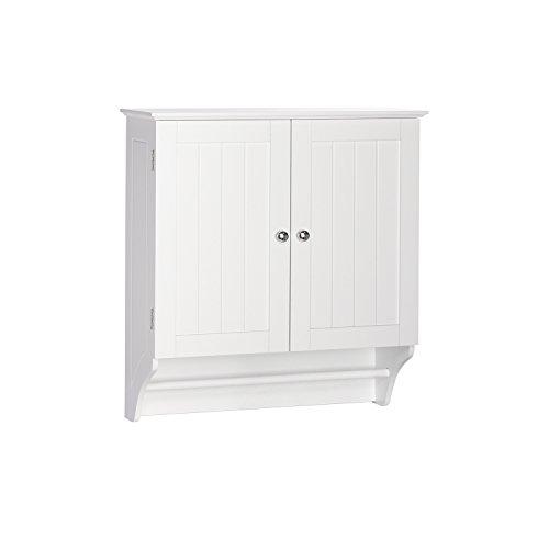 RiverRidge Ashland Collection Two-Door Wall Cabinet, Gray