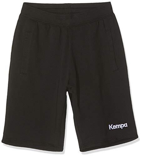 Kempa Kinder Core 2.0 Sweatshorts, schwarz, 164