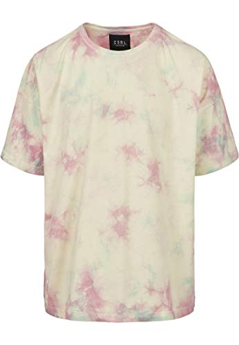 Cayler & Sons heren t-shirt CSBL Meaning of Life Tie Dye Box Tee