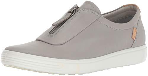 ECCO womens Soft 7 Zip Ii Sneaker, Wild Dove, 11-11.5 US