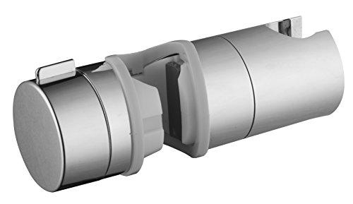 Grünblatt Brausehalter 513071 Gleiter Schieber für Brausestangen mit 18mm - 25 mm Durchmesser