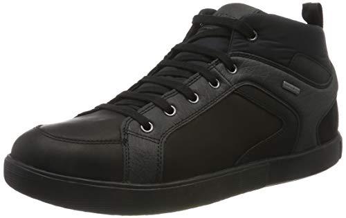 Geox Herren U TAIKI B ABX A Hohe Sneaker, Schwarz (Black C9999), 43 EU