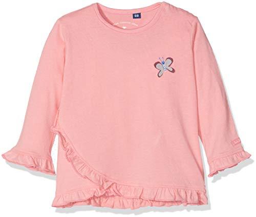 TOM TAILOR Kids 1/1 T-Shirt À Manches Longues, Rose (Flamingo Pink|Pink 2063), 95 (Taille Fabricant: 80) Bébé Fille
