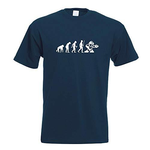 Megaman 8 Bit Evolution T-Shirt Motiv Bedruckt Funshirt Design Print