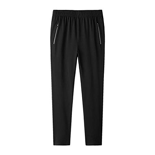 Übergroße Jogginghose Herren Plus Size 7XL 8XL 9XL Jogger Hip Hop Herren Trackpants Jogger Streetwear Baumwolle Stretchhose-7Xl_Schwarz 1