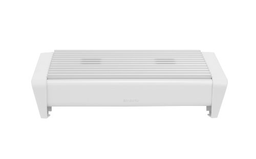 Brabantia Food Warmer, 2 Burner - White with Grey Grille