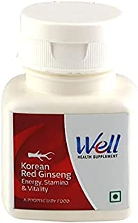 Well New packaging Modicare Korean Red Ginseng Superfood Supplement (60 Tablets, 300 Mg) with 2 years EXPIRY DATE