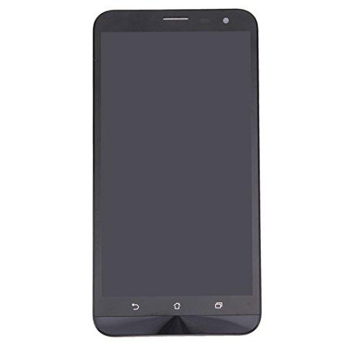 dayday Herramienta de fácil reemplazo Pantalla LCD de Repuesto + Pantalla táctil y ensamblaje Completo del digitalizador con Marco for ASUS Zenfone 2 Laser / ZE601KL (Negro) (Color : Black)