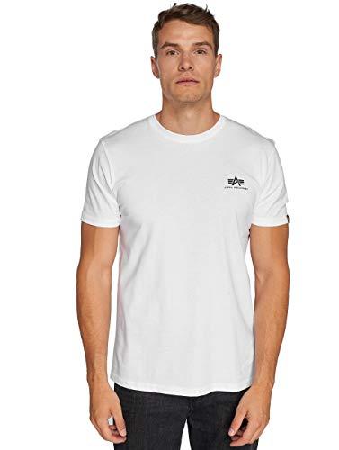 Alpha Industries Heren Eenvoudig T-shirt, Blauw