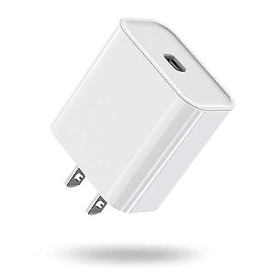 USB C Charger, KerrKim 20W PD Durable Fast Char...