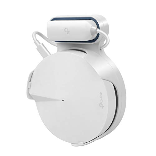 Soporte de Montaje en Pared para Deco M5 1 Paquete de enrutador Wi-Fi de Malla para Todo el hogar, gestión de Cables sin Tornillos y Cables desordenados