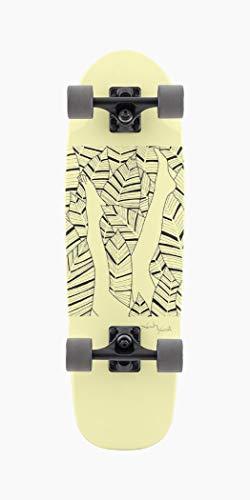 Landyachtz Dinghy Skateboard, 71,1 cm, Blunt Garden