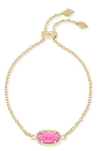 Kendra Scott Elaina Magenta/oro pulsera regalo perfecto tema