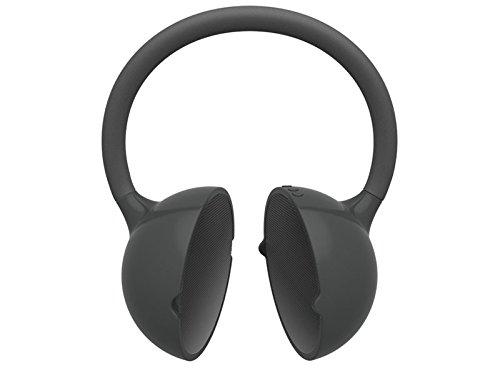 Yamazoki Moktak biegbarer Bluetooth Stereo-Lautsprecher (Bluetooth 3.0, NFC, 2X 3 Watt, Micro-USB) schwarz