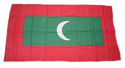 Flagge Fahne Malediven 30 x 45 cm FLAGGENMAE®