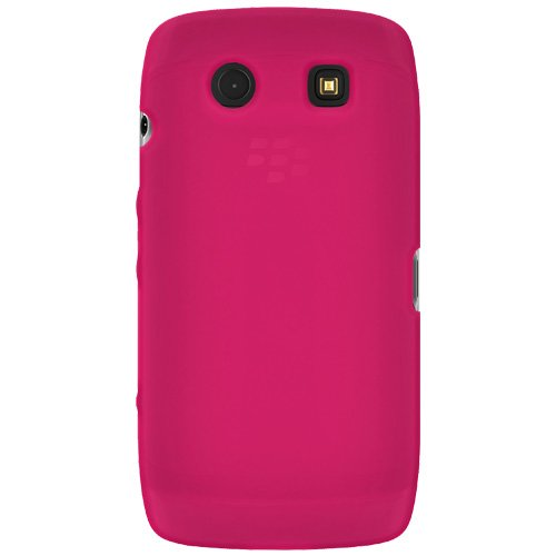 Amzer Silicone Skin Jelly Case for BlackBerry Torch 9850/9860 - Hot Pink