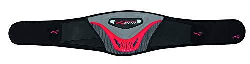 Faja Lumbar Para Motorista Cinturon Moto Protector Posterior Motocicleta Negro S