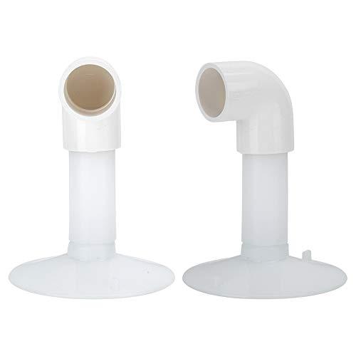 Ventosa de pantalla blanca, herramientas de apertura de pantalla LCD de plástico multiusos con 2 x curva para muebles para quitar herramientas