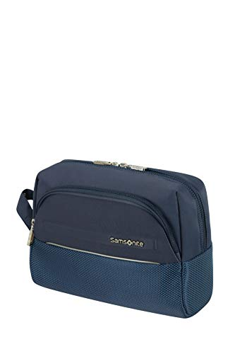 Samsonite B-Lite Icon - Beauty Case, 26 cm, 6 L, Blu (Dark Blue)
