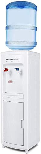 ZYLBDNB Agua embotellada fría y Caliente Vertical para bebederos domésticos, bebederos automáticos para pequeñas oficinas