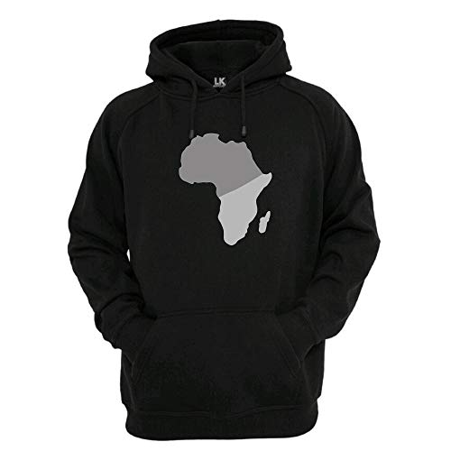 Sudadera Africa | African Heritage | MUJER | Hombre | Ropa de calle | Gris/Gris