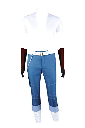 RWBY Cosplay Sun Wukong Costume Full Set Top Pants Outfit Uniform Cool...