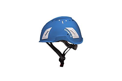 Irudek 102601300036 Casco para trabajo en altura EN397 OREKA, Azul