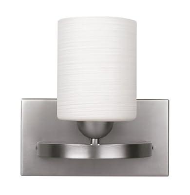 CANARM LTD. IVL370A01BPT Hampton 1 Bulb Vanity Light