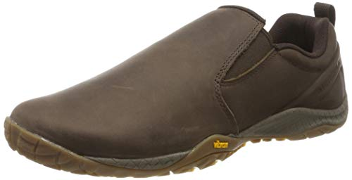 Merrell Trail Glove 4 Luna Slip ON, Zapatillas sin Cordones Hombre, Marrón (Espresso), 46 EU
