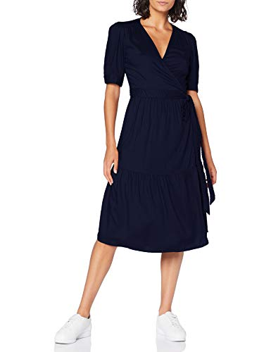 United Colors of Benetton (Z6ERJ) Damen Vestito Kleid, Peacoat 252, M