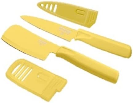 Large discharge sale Kuhn Rikon <br>MiniPrep Paring <br> Knife List price - Buttercup