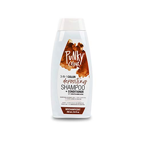 Punky Mochanificent 3-in-1 Color Depositing Shampoo & Conditioner with Shea Butter and Pro Vitamin B...