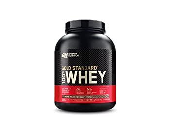 Optimum Nutrition Gold Standard 100% Whey Protein Powder Extreme Milk Chocolate 5 Pound  Packaging May Vary