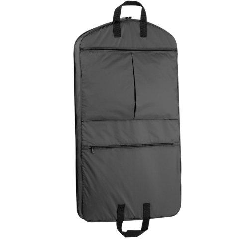 WallyBags Heavy Duty Travel Garment Bag with Pockets