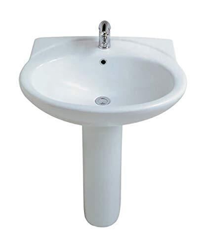 Columna de suelo para lavabo Globo Lei