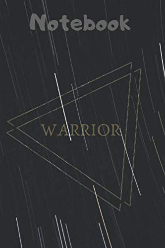 WARRIOR Notebook: Simple Design, Notebook /Journal Gift,Simple Cover Design,100 pages, 6x9, Soft cover, Mate Finish