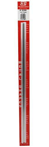 K&S-Metall 965098 Aluminium Dreieck-Röhre, 300m 2 Stück