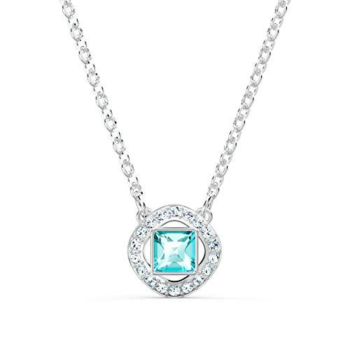 collana donna blu Swarovski Collana Angelic Square