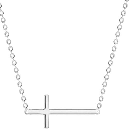 niuziyanfa Co.,ltd Necklace Personality Cross Female Short Cut Jewelry Not Allergic Sweet Simple Simple Wild Pendant Necklace