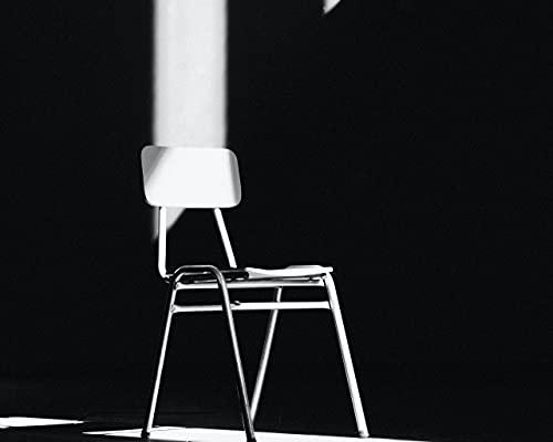 Malen Nach Zahlen DIY Stuhl Schatten Strahlen Beleuchtung Leinwand Hochzeitsdekoration Kunst Bild Geschenk 40 * 50CM Kein Bilderrahmen