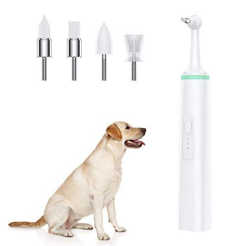 4 cabezales de cepillo para cachorros, kit de herramientas de limpieza para...