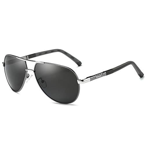 AORON Gafas de sol polarizadas hombre mujer retro gafas de sol masculino deportes al aire libre golf ciclismo pesca senderismo gafas de sol