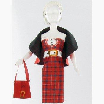 MaRécréation- Dress Your Doll Dolly Quilt Coudre Habit Poupée Mannequin, JE-N8RT-SKVY