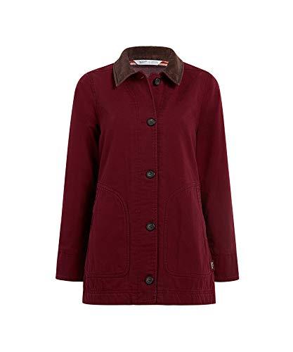 WOOLRICH Damen Dorrington Barn Jacket Arbeitsoberkleidung, Tamarind, Klein