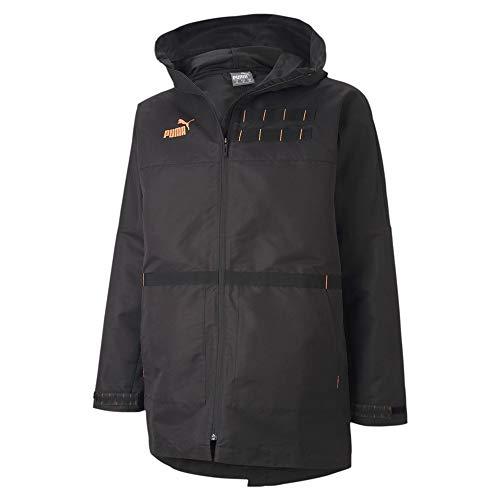 Puma ftblNXT Casuals Parka Coupe-Vent Homme Puma Black/Fizzy Orange FR : M (Taille Fabricant : M)