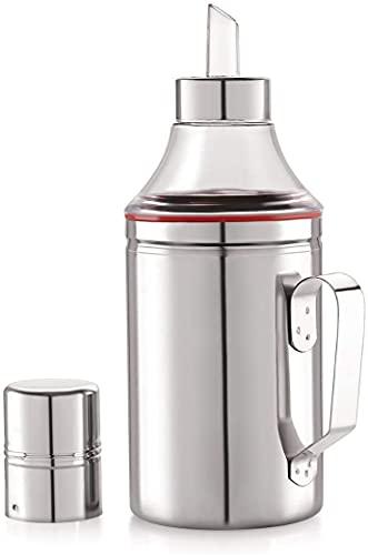 ATPL004 Stainless Steel Oil Dispenser, 1L, 1 Piece, Silver