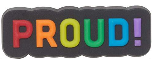 Crocs Rainbow Shoe Charms   Personalize with Jibbitz, Encantos para zapatos Unisex Adultos, Orgulloso, Talla única