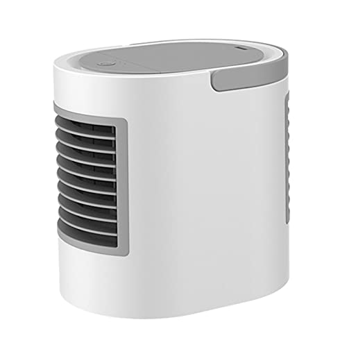 FPZHONG WT-F11 Mini USB Portable Air Cooler Fan Air Conditioner Light Desktop Air Cooling Fan Humidifier Purifier For Office Bedroom (Color : Type3)