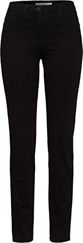 BRAX Damen Style Shakira Skinny Jeans, Schwarz(CLEAN BLACK), 27W / 32L (Herstellergröße: 36)
